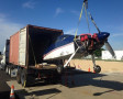 Neel Aviation Ships a RV7 to S Africa